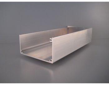 Bakgoot - Aluminium brute