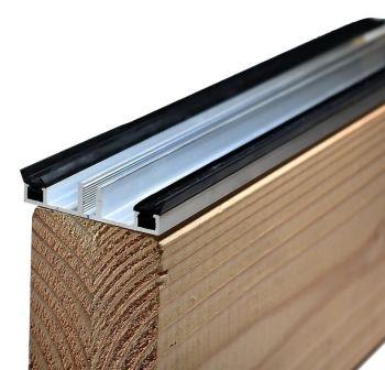 Aluminium Onderprofiel 7,5 mm